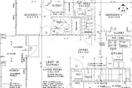 Margaret Manor Unit A Floor Plan