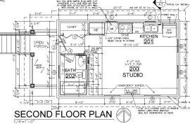 313 2nd Floor Plan